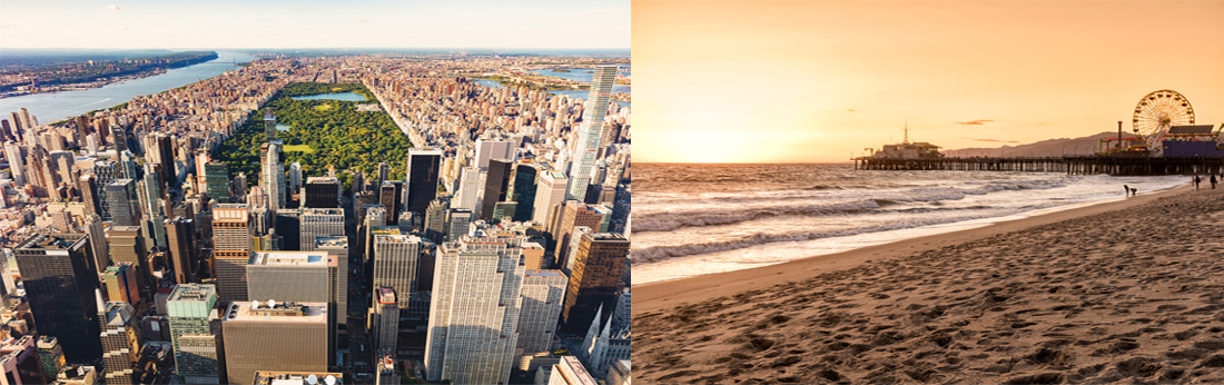 New York VS Los Angeles