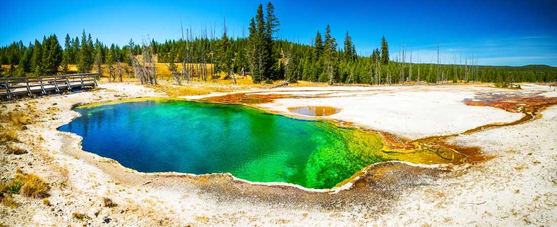 Parc national de Yellowstone Full branchement RV sites Liste des acronymes datant
